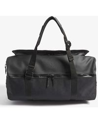 Rains Nylon Large Duffle Bag - Black