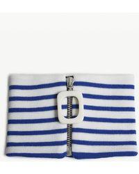 JW Anderson - Striped Merino Wool Neckband - Lyst