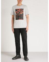 Michael Kors - Camouflage-pattern Cotton T-shirt - Lyst