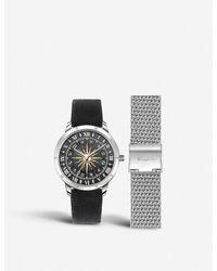Thomas Sabo Wa0351-217-203 Spirit Stainless Steel And Velvet Watch - Black