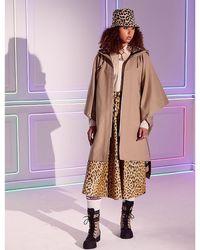 Dior Leopard-print High-waisted Silk Midi Skirt - Multicolour