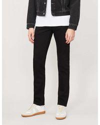 J Brand Kane Straight Jeans - Black