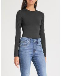 GOOD AMERICAN - The Crewneck Jersey Body - Lyst