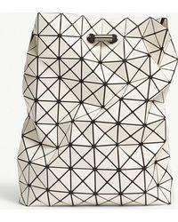 Lyst - Bao Bao Issey Miyake Prism Oversized Backpack in Black 67af390b24623