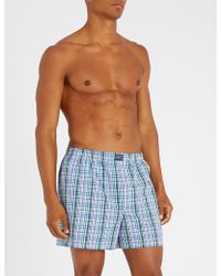 Polo Ralph Lauren - Pack Of Three Relaxed-fit Woven Cotton Boxers - Lyst