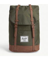 Herschel Supply Co. Retreat Canvas Backpack - Green