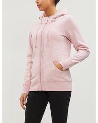 Lorna Jane Active Cotton-jersey Hoody - Pink