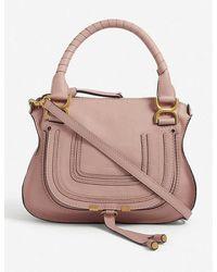 Chloé - Marcie Small Leather Cross-body Bag - Lyst