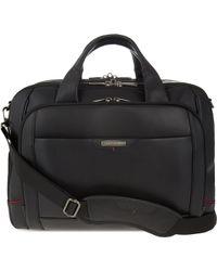 Samsonite - Pro-dlx 4 Leather Laptop Briefcase - Lyst