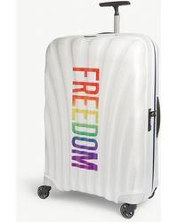 Samsonite Freedom Cosmolite Four-wheel Cabin Suitcase 75cm - White