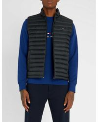 Tommy Hilfiger Padded Shell-down Gilet - Black