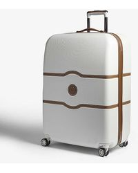 Delsey Chatelet Hard Four-wheel Suitcase 77cm - Grey
