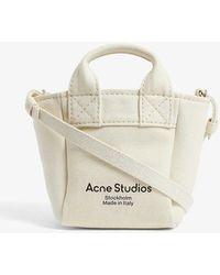 Acne Studios Aleah Canvas Cross-body Bag - Natural
