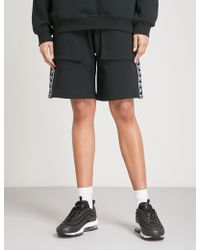 BOY London - Eagle Cotton-jersey Jogging Shorts - Lyst