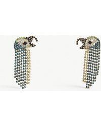 BaubleBar - Parrot Gemstone Drop Earrings - Lyst