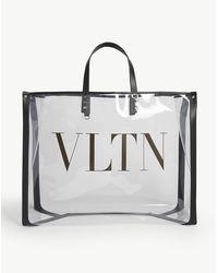 Valentino Vltn Transparent Tote - Multicolour
