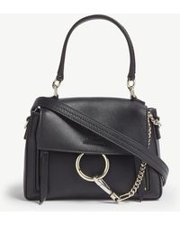 Chloé - Faye Day Mini Leather Shoulder Bag - Lyst