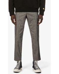 J Brand Mens Lavo Spadium Stretch-woven Jogging Bottoms M - Grey