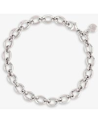 The Alkemistry Dinny Hall Sterling Silver Chain Bracelet - Metallic