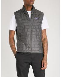 Patagonia - Nano Puff Recycled Shell-down Gilet - Lyst
