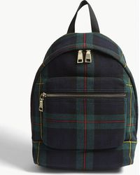 Sandro Check Backpack - Multicolor