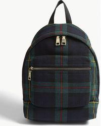 Sandro - Check Backpack - Lyst