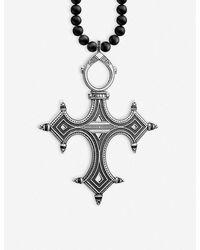 Thomas Sabo Cross Sterling Silver Necklace - Metallic