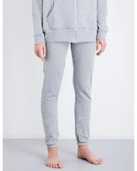 Les Girls, Les Boys - Mini Logo Slim-fit Cotton-jersey Jogging Bottoms - Lyst