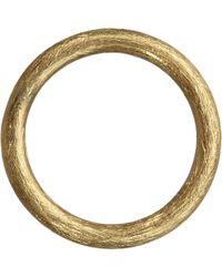 Annoushka - Hoopla 18ct Yellow-gold Small Hoop Pendant - Lyst