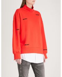 5cm - Youthful Cotton-jersey Sweatshirt - Lyst