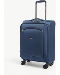 Delsey Montmartre 2.0 Suitcase 55cm - Blue
