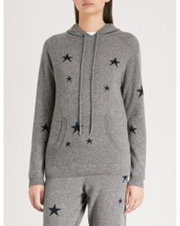 Chinti & Parker - Star-intarsia Cashmere Hoody - Lyst