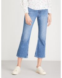 Claudie Pierlot - Flared High-rise Jeans - Lyst