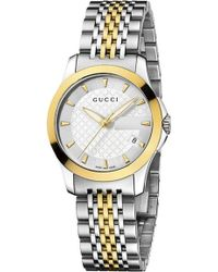 0d37be39bda Gucci - Ya126511 G-timeless Collection Stainless Steel And Yellow-gold Pvd  Watch -
