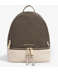 MICHAEL Michael Kors Rhea Medium Leather Backpack - Multicolour