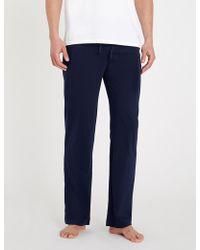 Polo Ralph Lauren - Cotton-jersey Pyjama Bottoms - Lyst