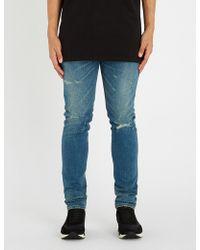 Balmain - Destroy Slim-fit Jeans - Lyst