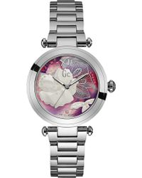 Gc - Y21004l3 Ladychic Stainless Steel Watch - Lyst