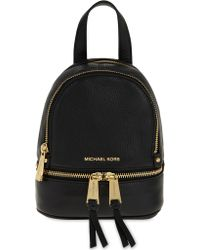 MICHAEL Michael Kors - Rhea Extra-small Leather Backpack - Lyst