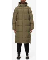 Ganni Heavy Tech Shell-down Puffer Coat - Natural