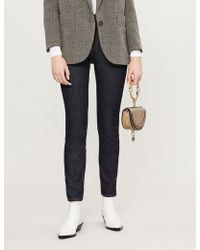 Claudie Pierlot - Pepite High-rise Skinny Stud-detail Jeans - Lyst