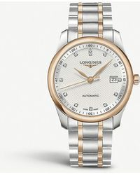 Longines L2.793.5.77.7 Master Master 18ct Rose-gold Cap 200 And Stainless Steel Watch - Metallic