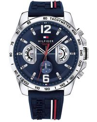 Tommy Hilfiger Analog Blue Dial Watch
