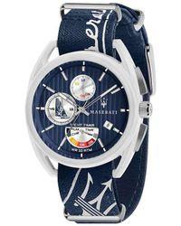 Maserati Blue Trimarano Quartz Watch