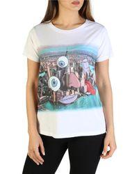 Armani Exchange - X Lucas Levitan White Nyc T-shirt - Lyst