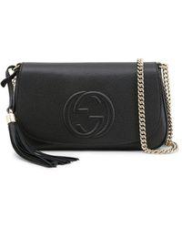 Gucci Nero Black Soho Cellarius Crossbody Bag