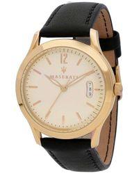 Maserati Black Tradizione Quartz Watch