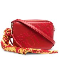 Versace Jeans Couture - Logo-embellished Crossbody Bag - Lyst
