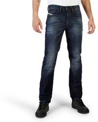 DIESEL Midnight Blue Wash Regular Jeans