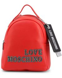 Love Moschino - Backpack Red Jc4240pp0bkg - Lyst
